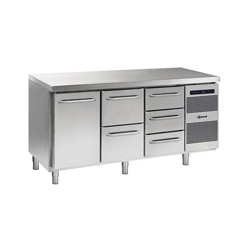 gram commercial counter refrigeration