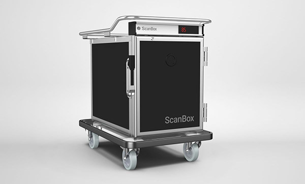 ScanBox room service trolley