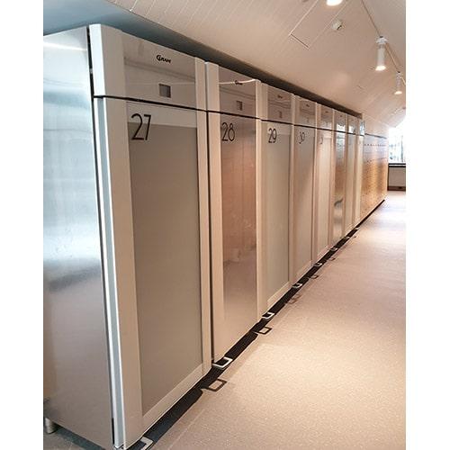 Monash University Gram refrigeration
